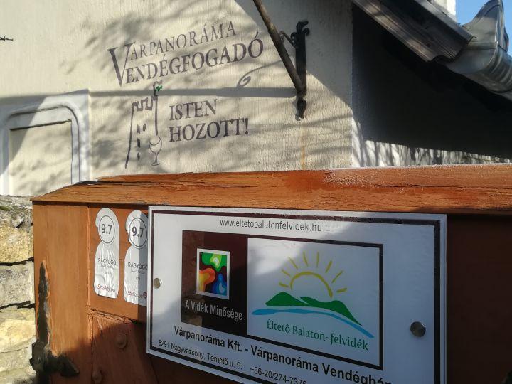 Vidék minősége díjas lett szálláshelyünk